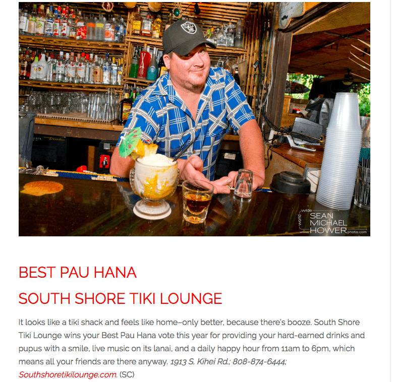 In the News Archives • South Shore Tiki Lounge