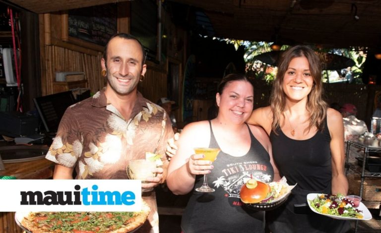 Maui Time Weekly South Shore Tiki Lounge staff